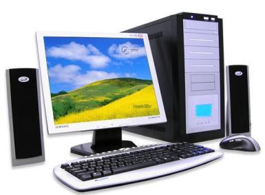 Компьютер как источник электростатического поля