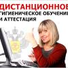 ДИСТАНЦИОННОЕ ГИГИЕНИЧЕСКОЕ ОБУЧЕНИЕ И АТТЕСТАЦИЯ
